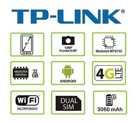 celular neffos x9 tp-link 32gb 4g lte plateado