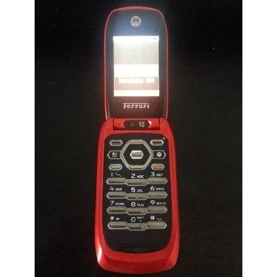 celular nextel edicion ferrari i897 red limited caja legal