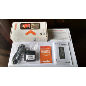 Celular Nextel I415 Negro En Caja Libre Para Chip Prepago