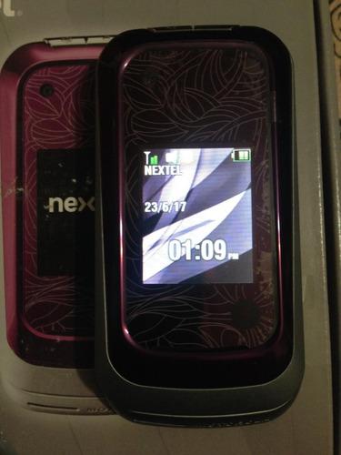 celular nextel i786w bordo prepago libre nuevo films vidros