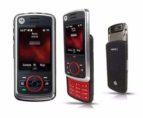 celular nextel i856 preto novo s/caixa promoçao envio já