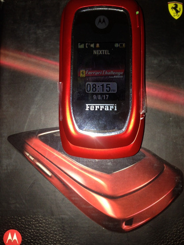 celular nextel i897 ferrari yellow original usado en caja
