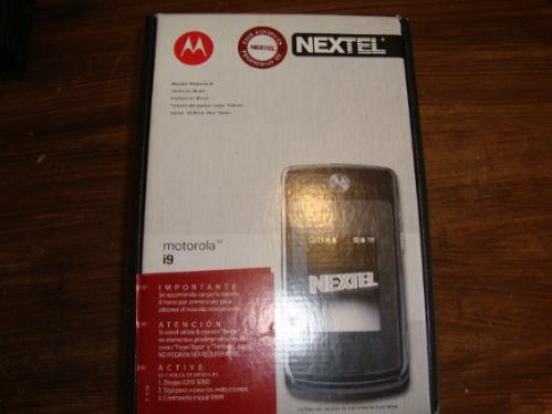 celular nextel i9 importado boost mobile usa caja original
