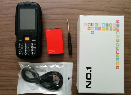 celular no.1 a9  / 8gb - power bank / uso rudo - t67