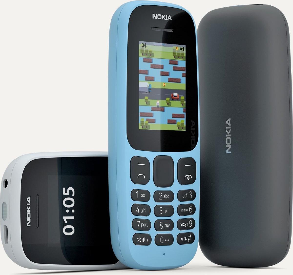 d2bdb970743 Celular Nokia 105 Nuevo Blanco.negro Azul Original - $ 89.900 en ...