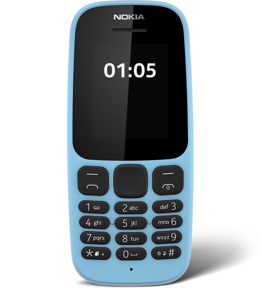 fa951643e15 Celular Nokia 105 Teclado Grande Original Libre En Caja - $ 1.690,00 ...