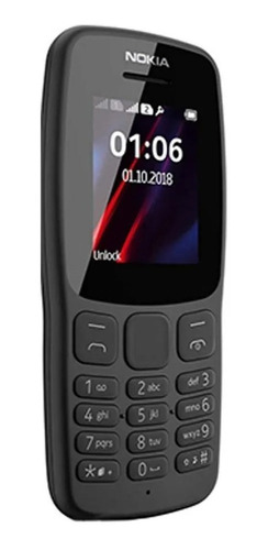 celular nokia 106 4mg ram radio, linterna, nuevo garantía