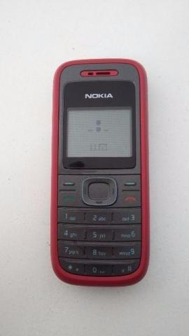 celular nokia 1208 lanterna simples lote com 20 unidades