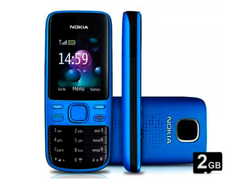 celular nokia 2690 - câmera, rádio fm, desbloqueado - novo