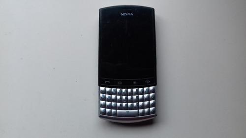 celular nokia 303 asha con cargador manual original funciona