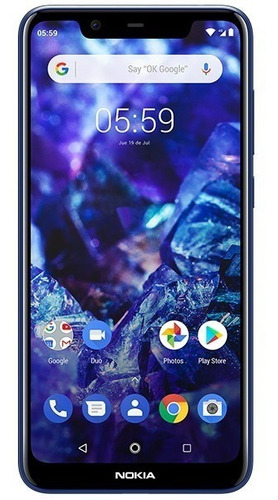 celular nokia 5.1 plus 32gb 3gb ram doble camara libre lh