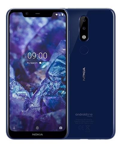 celular nokia 5.1 plus azul