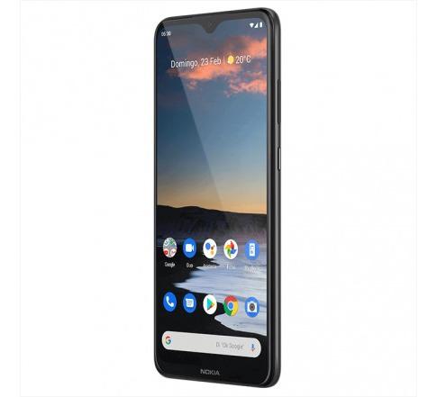 celular nokia 5.3 - 64gb negro qualcomm snapdragon cel mk277