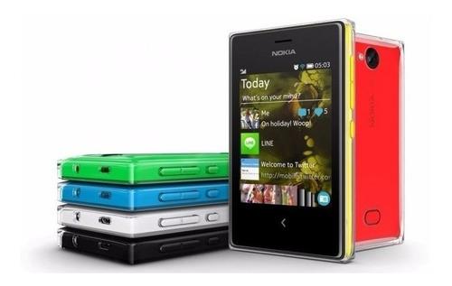 celular nokia asha 503, nuevo con garantía y factura