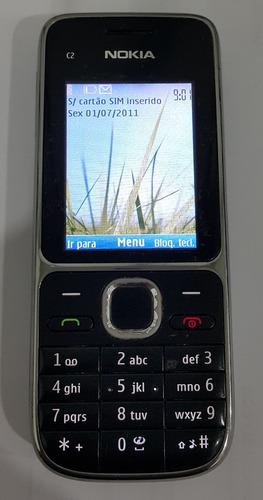 celular nokia c2 c2-01 3g bluetooth cam 3,2mp desbloqueado!