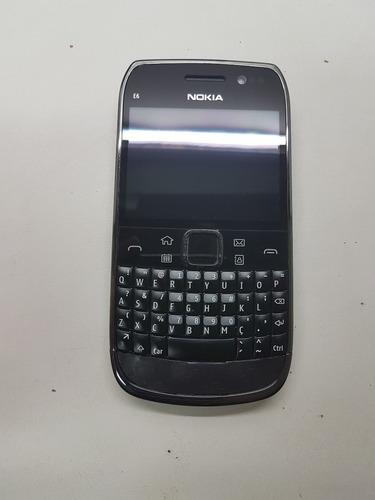 celular nokia e6-00 toch cãmera 8mp 1gb