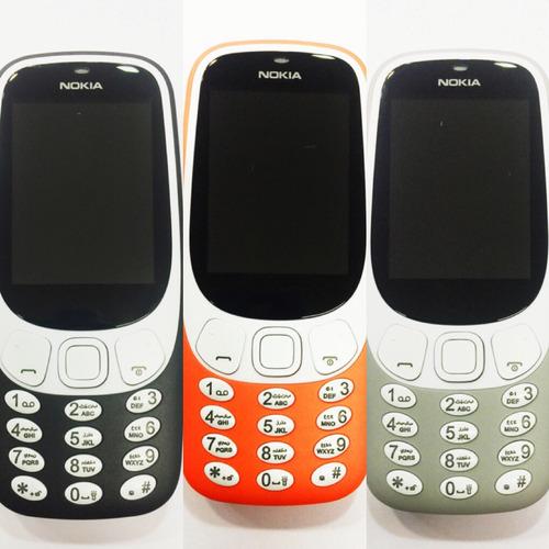 celular nokia idoso 3310 tela numero grande 4 chip importado