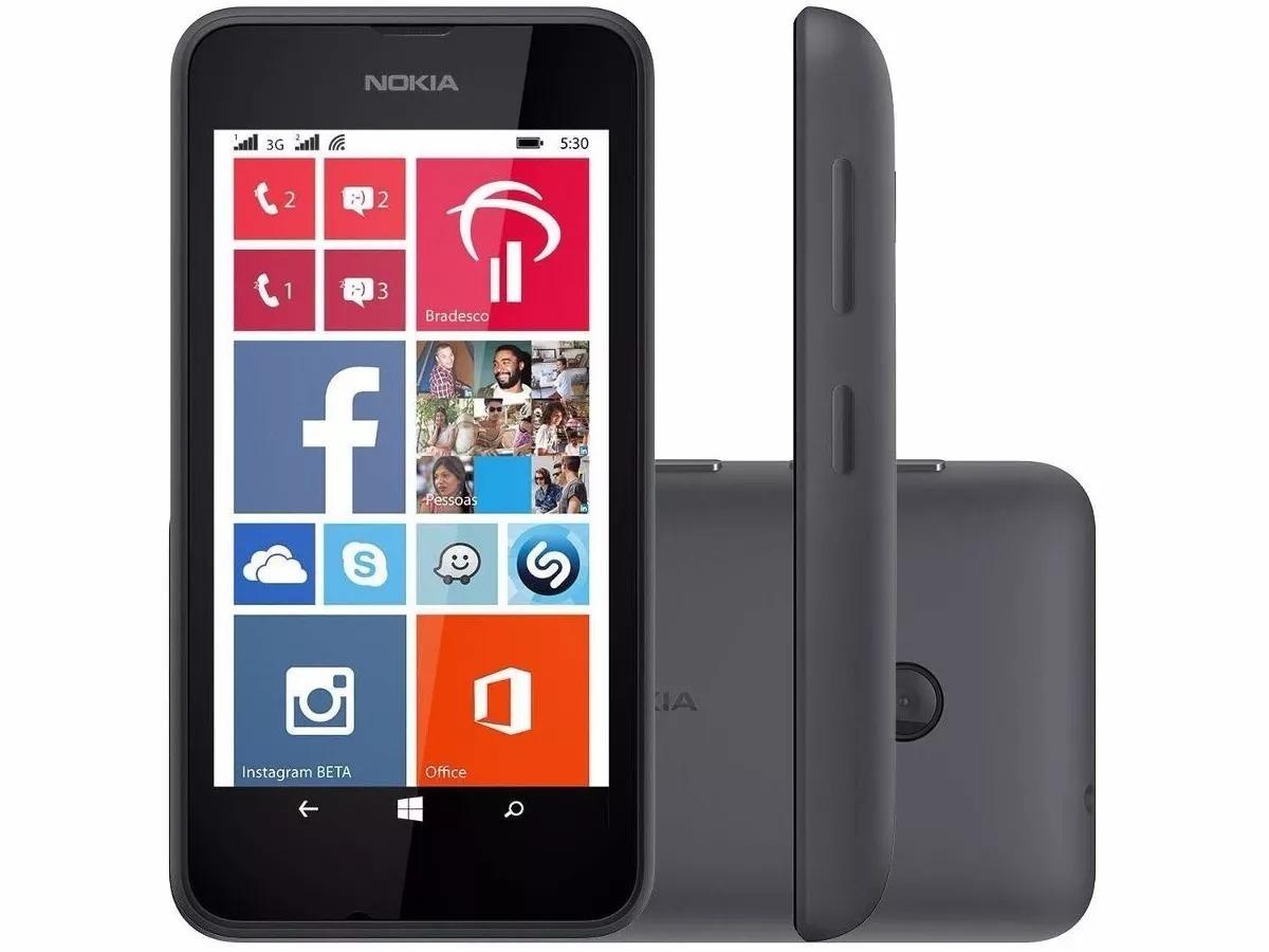 703393b711f celular nokia lumia 530 dual chip original de vitrine nf. Carregando zoom.