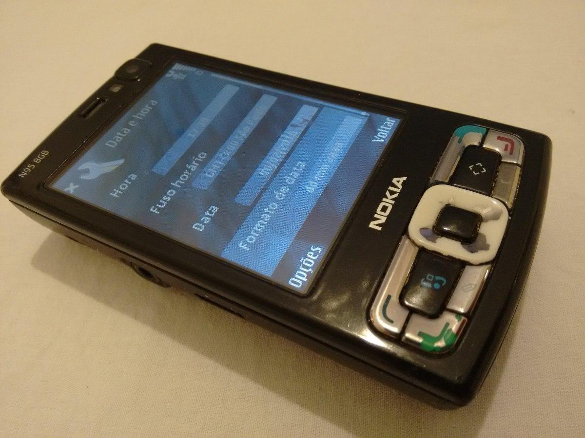 celular nokia n95 8gb. Carregando zoom.