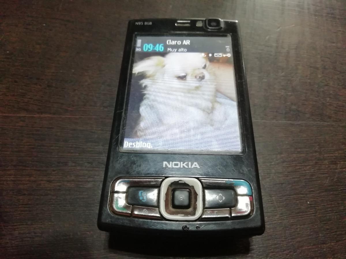 Celular N95 Accesorios Caja Liberado - Nokia 8gb