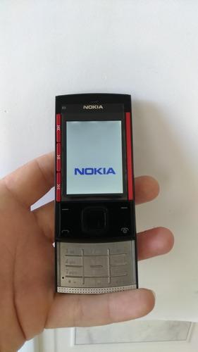 celular nokia x3 x3-00 debloqueado usado ótimo estado veja