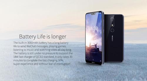 celular nokia x6 global 64gb dual sim 4g