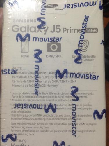 celular nuevo samsung galaxy j5 prime - en su caja sellado