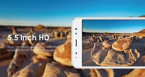 celular oale x1 quad core 2-16gb cámara dual 13mp huella