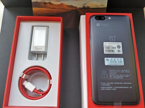 celular oneplus 5 64gb nuevo!!!!