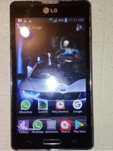 celular optimus ll7 ya esta usado