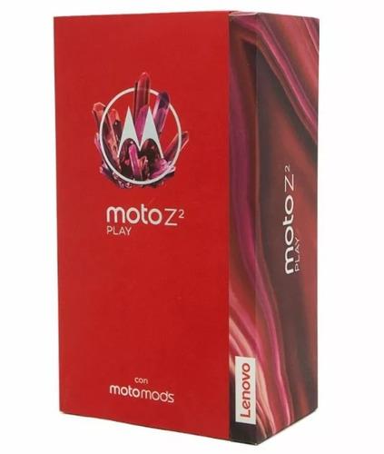 celular original motorola moto z2 play 32gb gris lunar a235