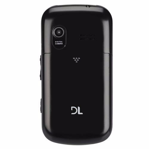 celular p/ idoso dl yc-130 flip dual chip tecla sos lanterna