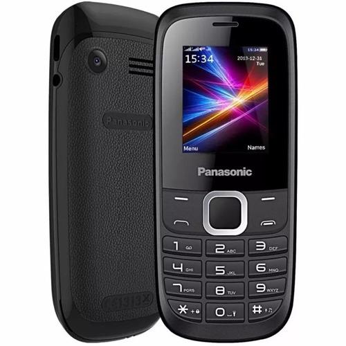 celular panasonic gd18 2 chips fm mp3 camera simples grande