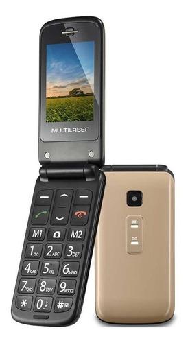 celular para idoso flip vita p9043 multilaser