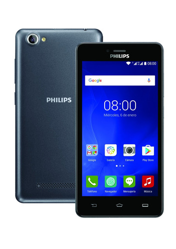 celular philips s326 4g gris control remoto ir + protector