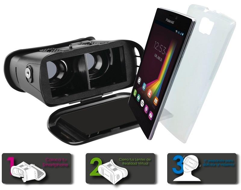 0d52a91836 celular polaroid cosmo 550 con lentes de realidad virtual 3d. Cargando zoom.