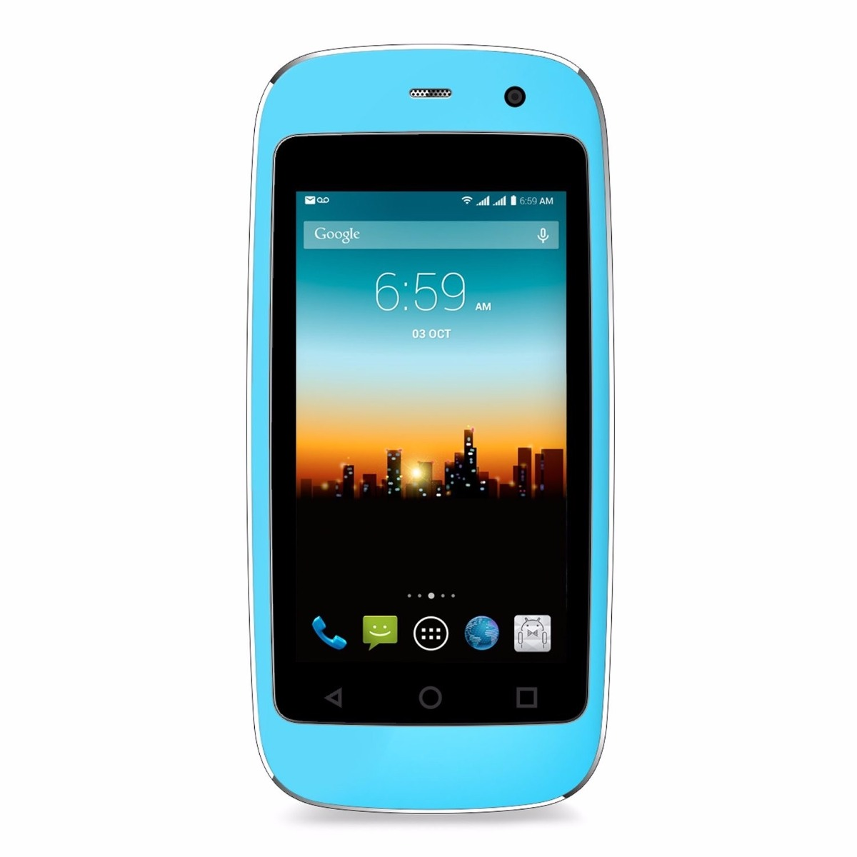 9571f3bfc4a Celular Posh Micro Xs240 2.4 4gb Azul - $ 2,565.00 en Mercado Libre