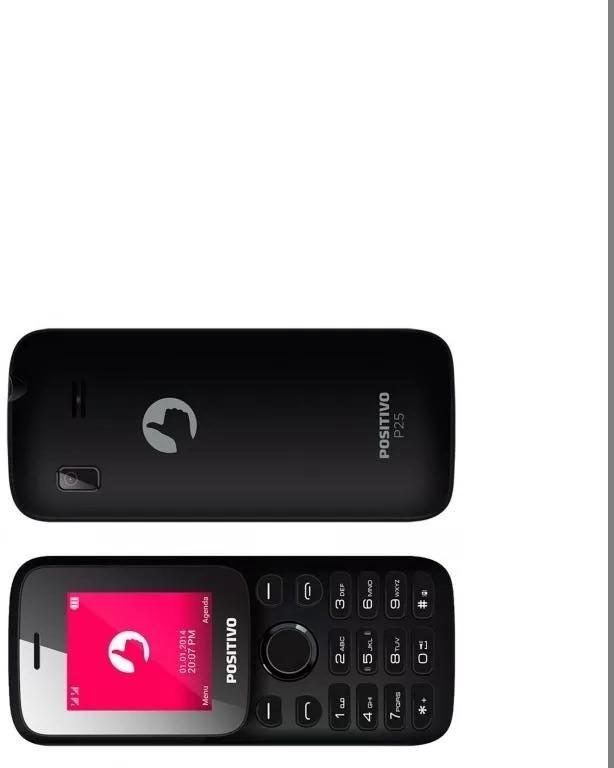 celular positivo p25 preto dual chip tela 1 8 com camera r 160 00