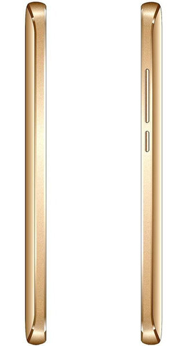 celular qbex w509 gold intel tela 5.0 dual 3g 16gb 8mp novo