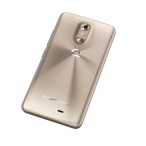 celular quantum muv pro dourado 16gb  tela 5.5  câmera 16mp