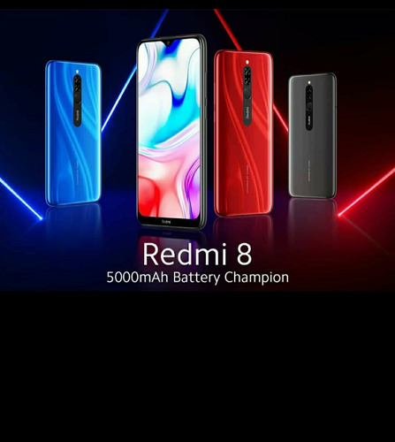 celular redmi 8 de 4+64 gb
