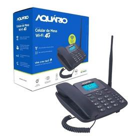 Celular Rural De Mesa Aquário 2 Chip Internet 2g 3g 4g Wifi