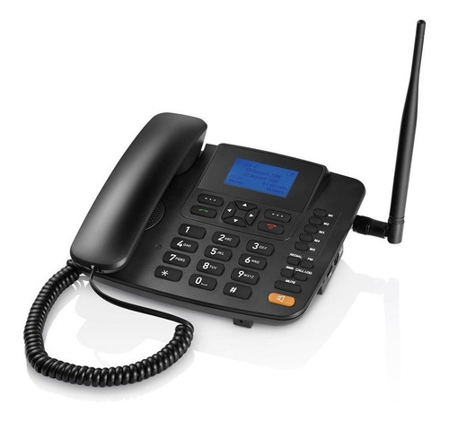 celular rural fixo multilaser quadriband 3g preto re504