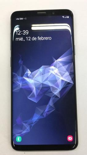 celular s9+ 256gb usado impecable estado !