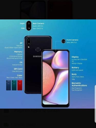 celular samsung a10s 2019