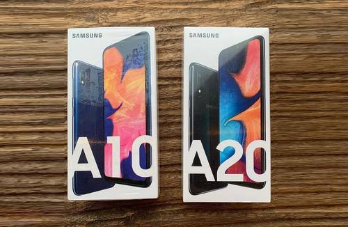 celular samsung a20, 32gb, 3gb ram envio gratis, azul!