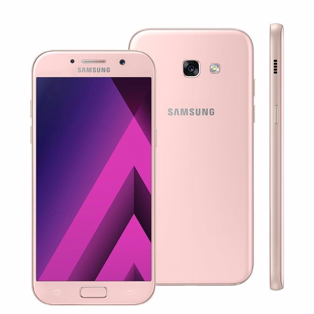 celular samsung a5 2017 rose 4g 32gb android 6 0 39 39 r em mercado livre. Black Bedroom Furniture Sets. Home Design Ideas
