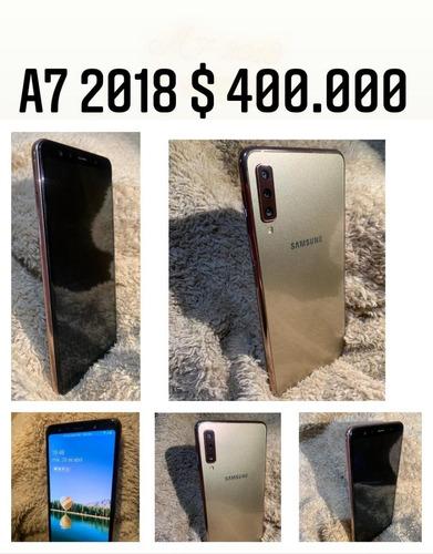 celular samsung a7 2018 en perfectas condiciones