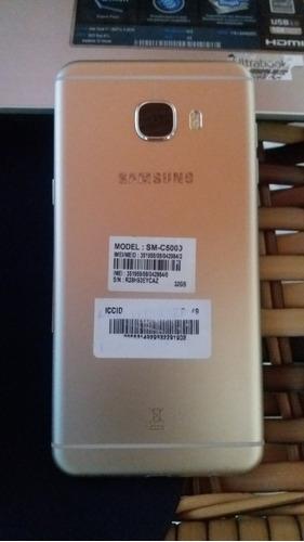 celular samsung c5 4gb ram 32gb 2 chips c caixa e acessorios
