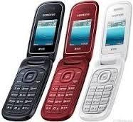 celular samsung e-1270 com flip 2 chips mp90 abre e fecha